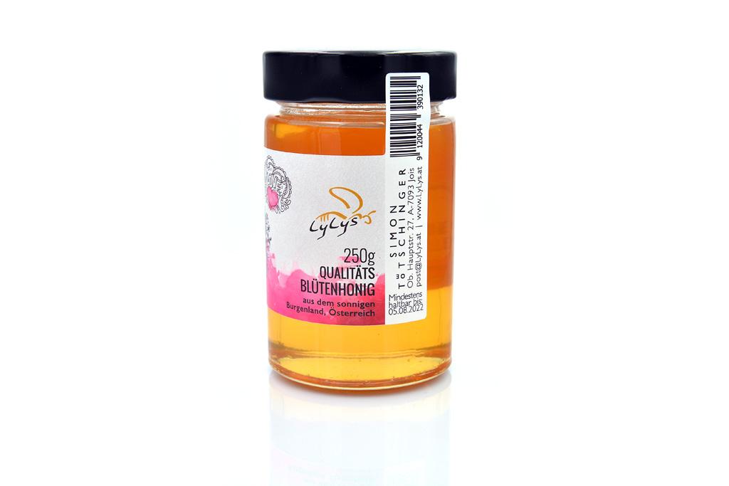Herz für Bienen Honig 250g