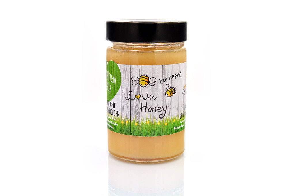 bee happy - love honey Honig 250g